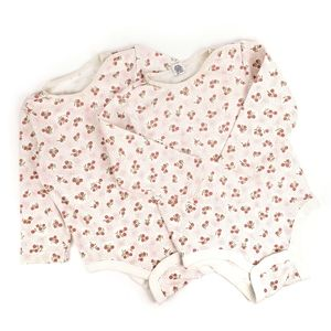 Gap Baby Girls Long Sleeve Onesie Two Pack
